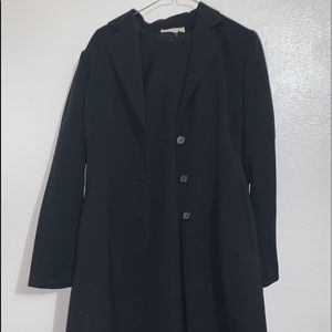 trench coat and matching dress set